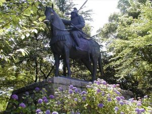 藤堂高虎銅像